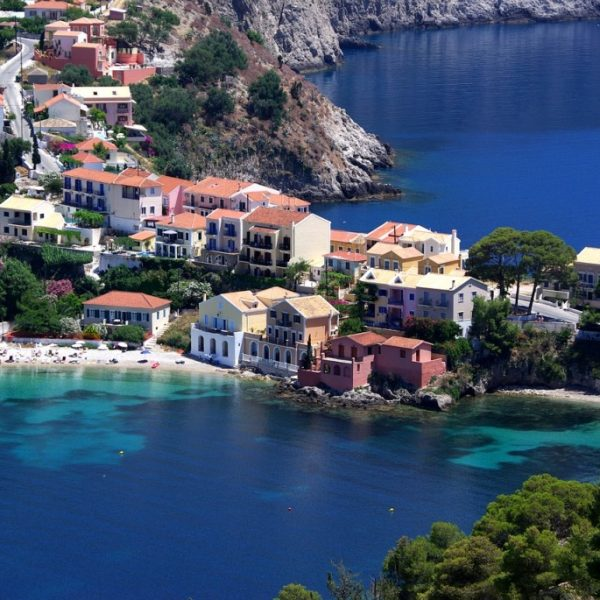 Assos village Kefalonia, Destination Weddings Your Event Corfu