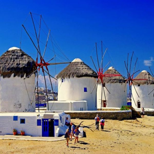 Windmills in Mykonos, Destination Weddings Your Event Corfu